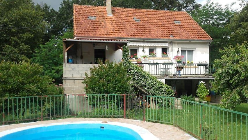 Maison  très proche Loire avec piscine