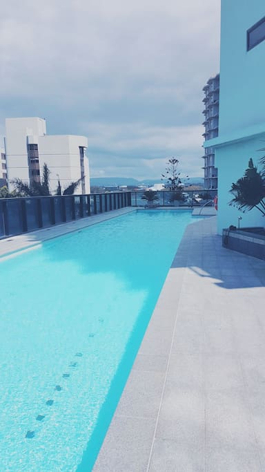 South side pool and spa