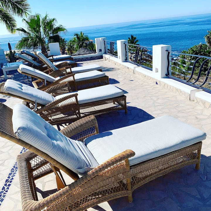 """All Decked Out!  Seascape,""""Cabo Style"""""""