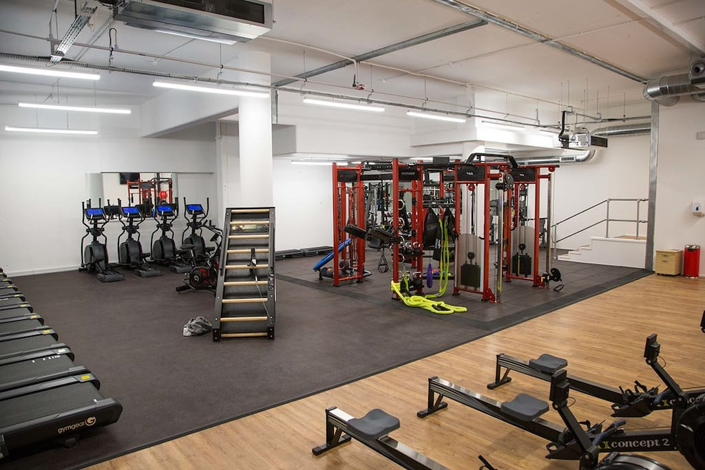 Guests are welcome to this gym just 5 min away