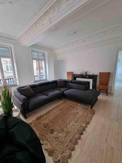Hermoso apartamento céntrico de 120 m2.
