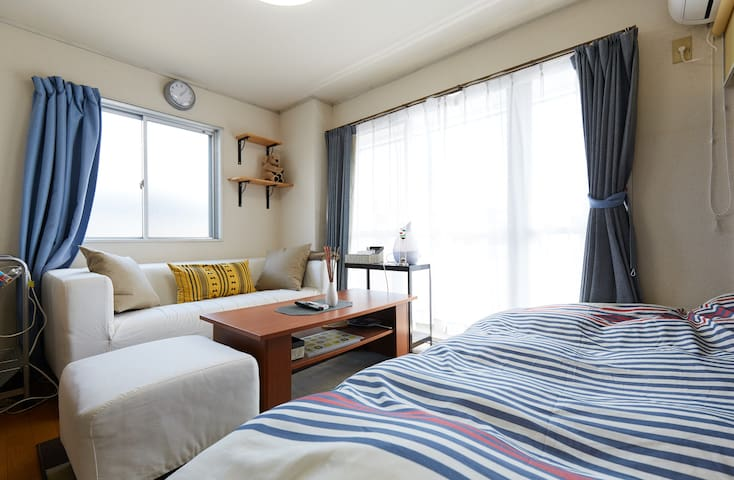 Yokohama Cozyroom 3min.from st. High-speed wi-fi/
