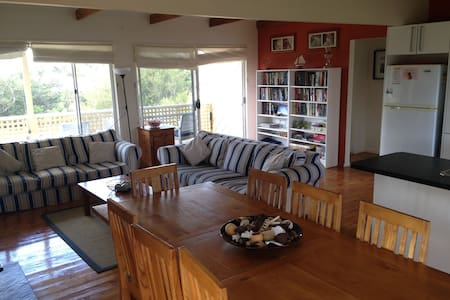 Baystone: Beach Retreat w Garden - Goolwa Beach - Hus