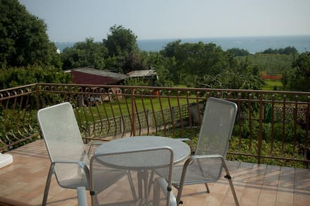 One bedroom apartment with terrace and sea view Zambratija, Umag (A-11875-a)