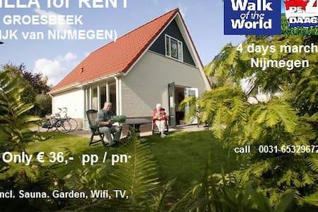 Luxury top villa groesbeek + Sauna - Groesbeek