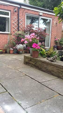 A restful garden