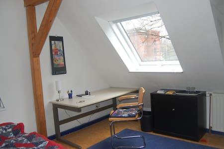 Zwei helle Dachgeschosszimmer - Kassel - Penzion (B&B)