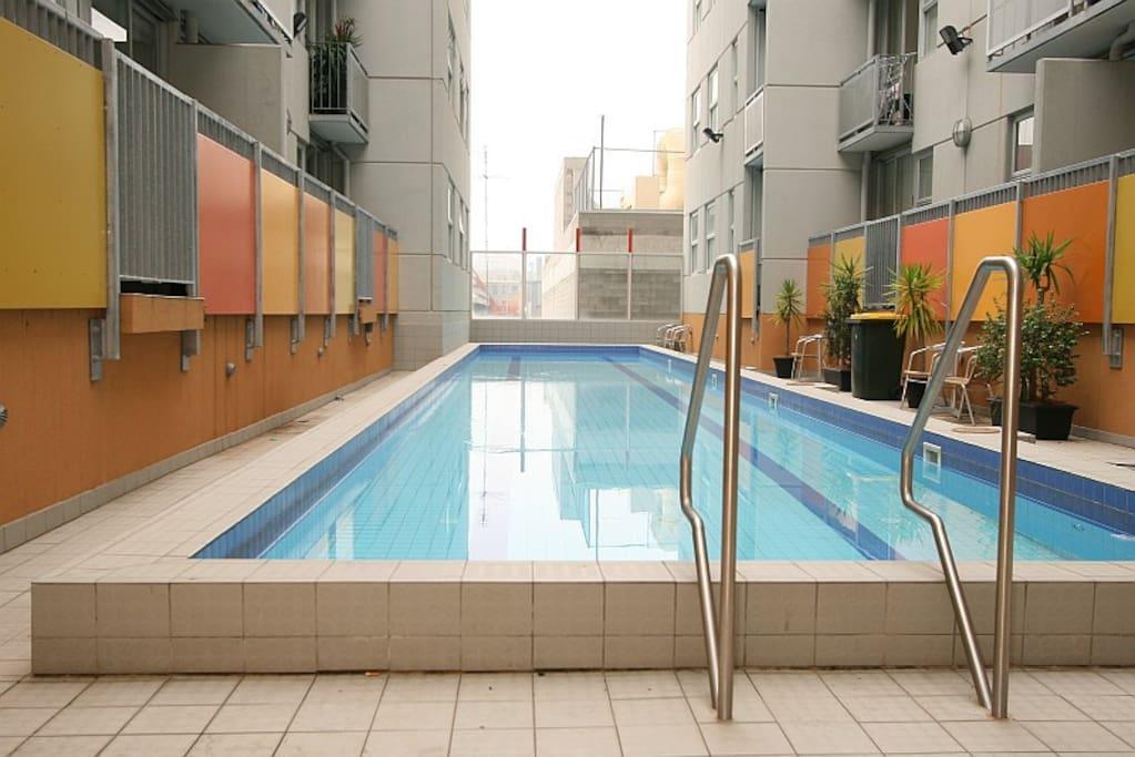 24 Metres outdoor swimming pool
