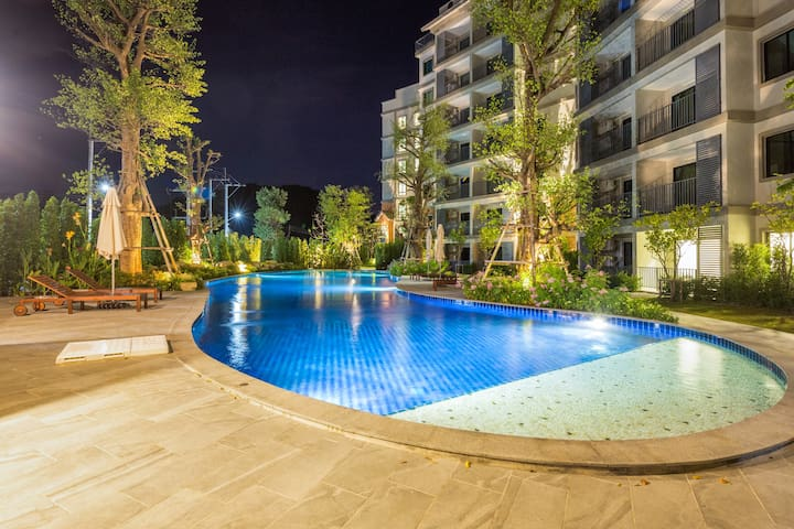 Green Nature View Apartment @Nai Yang beach–250m