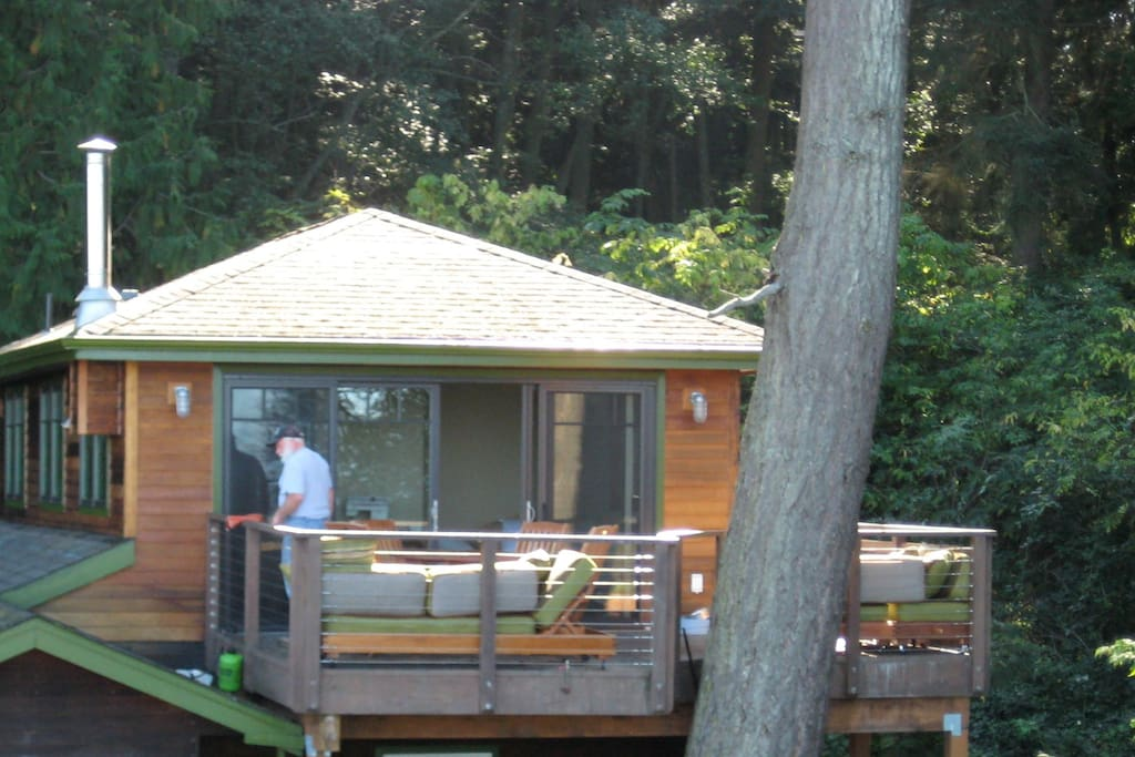 Treehouse Apartment On Acreage Bay Guesthouses For Rent In Bellingham Washington United States