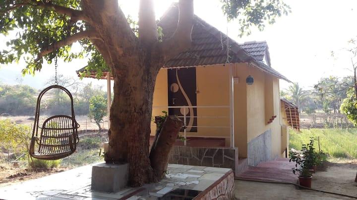 Sade char anandvan cottage 1