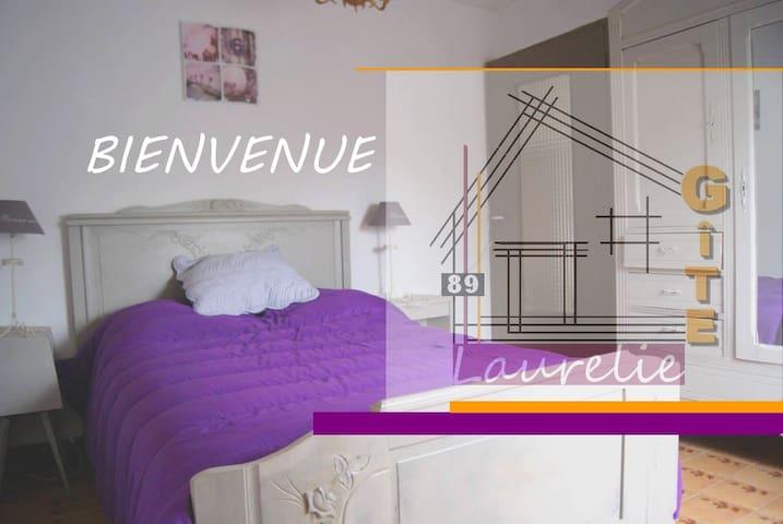 Gîte de Laurelie - Andryes - Talo