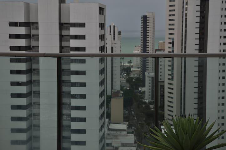 Rua de Acesso a praia, próximo a padaria Boa Viagem.
