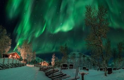 Bardu Huskylodge 'Eivind Astrup' cabin