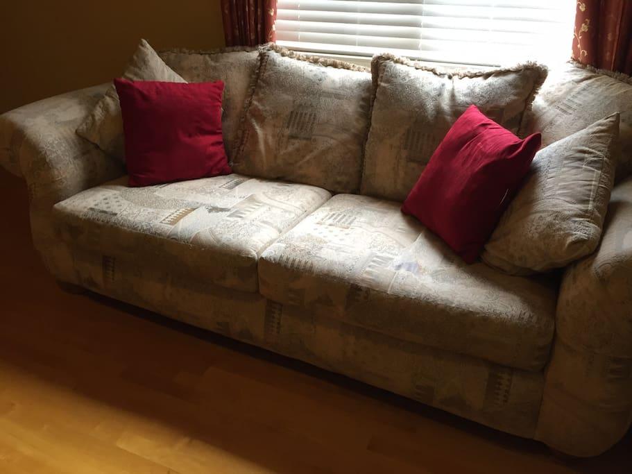 Sofa set in the Bedroom