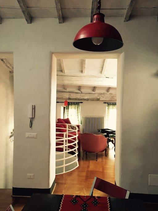 Martini alle logge casa sui tetti 3 p appartamenti for Piano del sito di casa