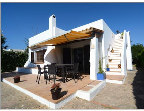 My little Finca with her roof terrace in Spain.
