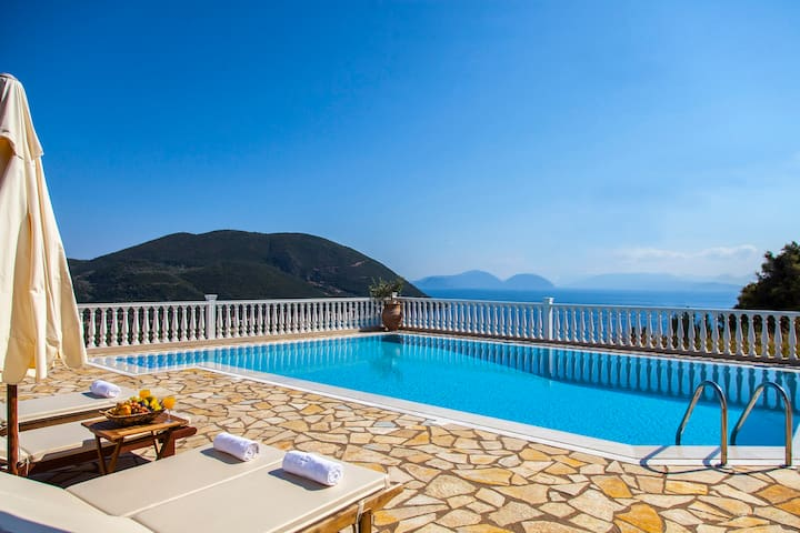 June Special for Private Villa from 200 euros - Vasiliki - Daire