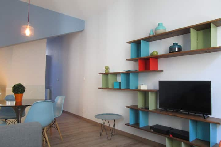 3 bedroom house near Palais des Papes full AC