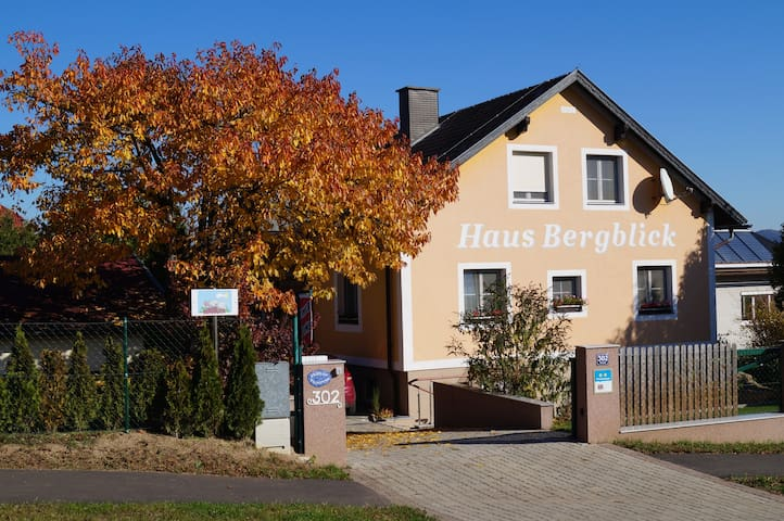 Haus Bergblick - bed & kitchen - FICHTENZIMMER - Maiersdorf - Hohe Wand - Bed & Breakfast