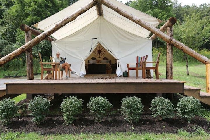"Luxury Glamping Tent ""The Bourbon"" - Paris - Barraca"