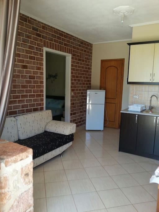 second livingroom&kitchen