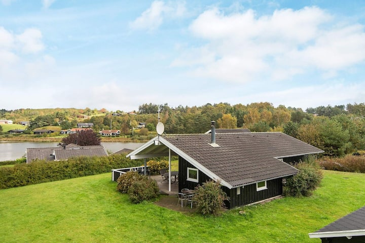 Gorgeous Holiday Home in Ebeltoft with Whirlpool