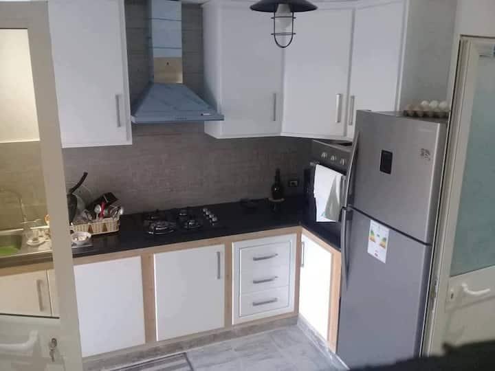Appartements F3 moderne équipé situé à kelibia