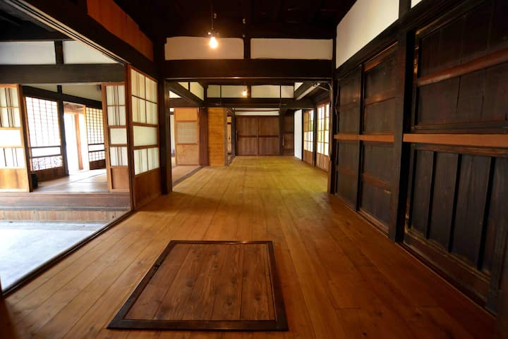 This beautiful, traditional Japanese home