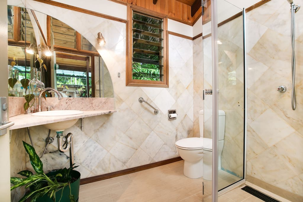 A stunning five star bathroom for your private use