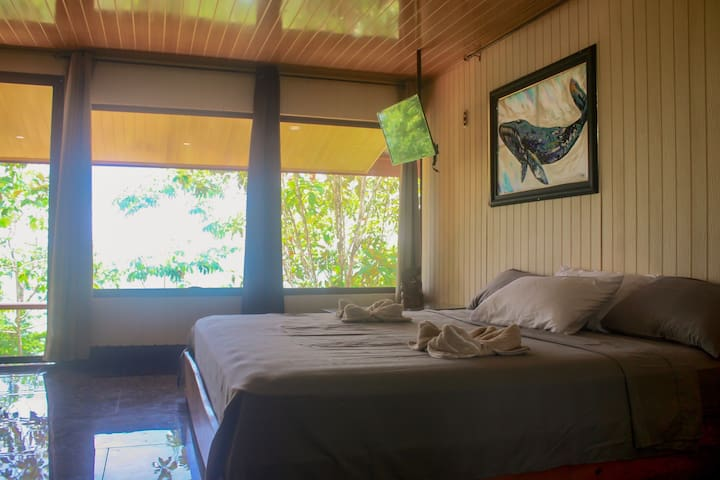 Bungalow Double with Ocean View -A/C - Drake
