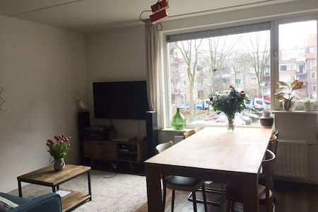 Spacious apartment in Amsterdam East - Amsterdam - Huoneisto