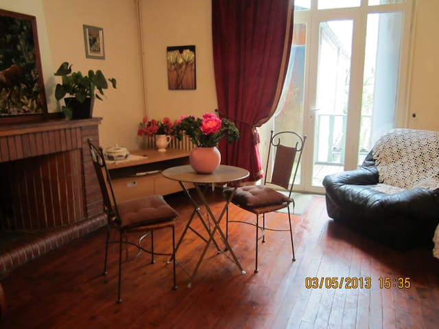 appartement duplex dans village entre albi/millau - Alban