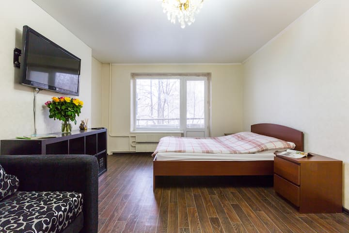 Stylish, Fresh and Modern Aptartment Near Mkad - Moskva - Apartamento