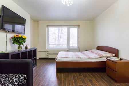 Stylish, Fresh and Modern Aptartment Near Mkad - Moskva - Daire