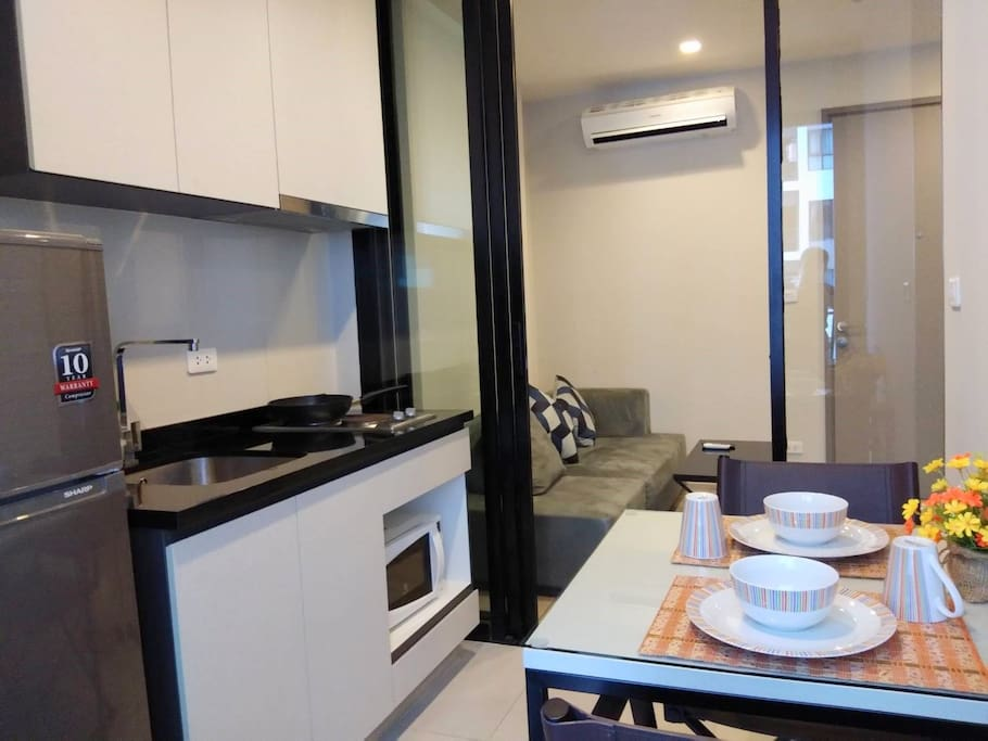 Kitchen and Dinning Area,