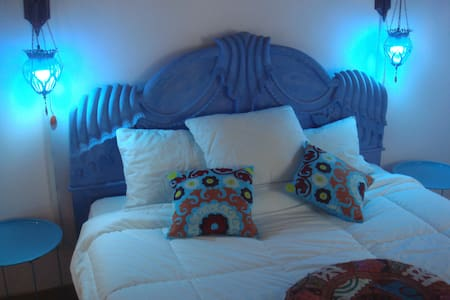 Blue Mood studio'apartment n garden - Manama - Apartment
