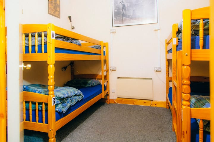 Bed in a 4 Bunk Bed shared Dorm
