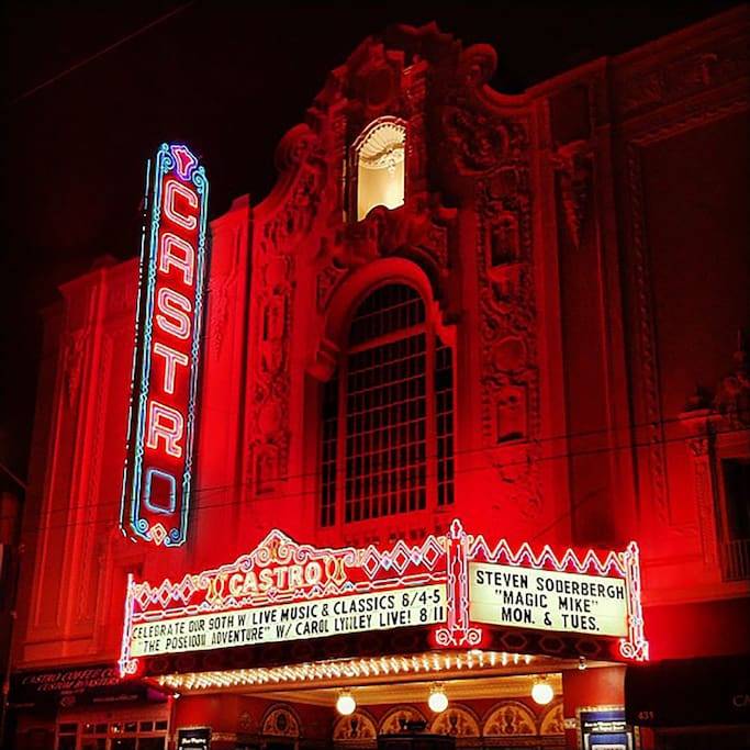 Photo of The Castro Theatre in The Castro