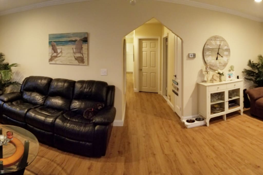 Living Room/ Hallway Entrance