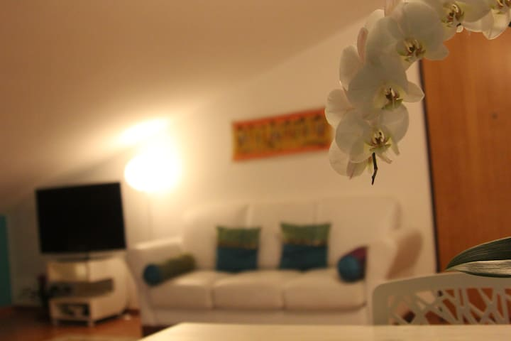 Night-living room