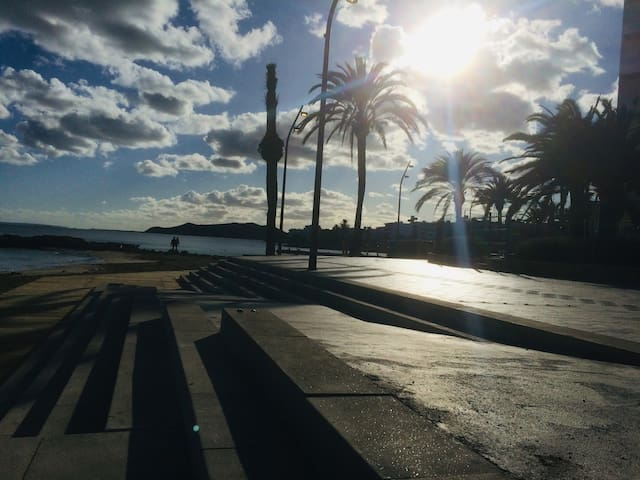 true Ibiza experience - beach, old-town, city life