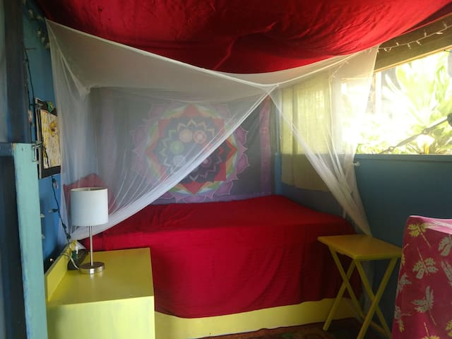 Backpacker's Jungle Delight: Sunflower Room
