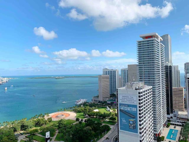 Miami's Best Ocean and City View