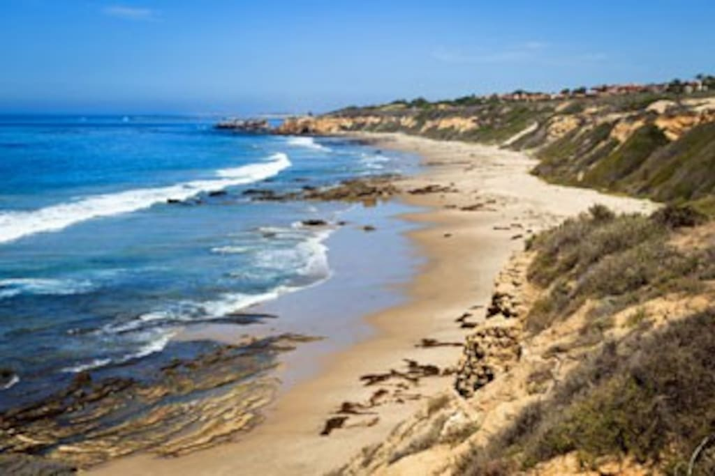 Walking distance to Crystal Cove