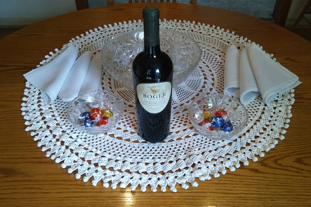 Welcome to your Home in the Poconos.  Fine wine and Fine Chocolates will be waiting for you.