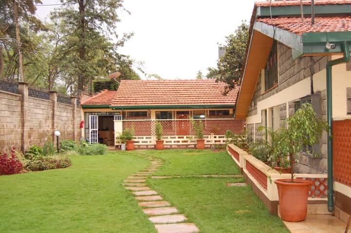 Nairobi serviced studio apartments.