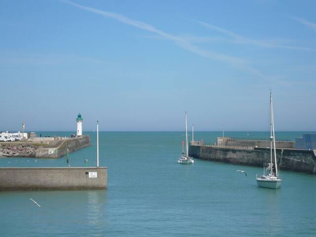 Gîte vue mer proche de la plage et des commerces - Saint-Valery-en-Caux - Daire