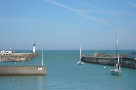 Gîte vue mer proche de la plage et des commerces - Saint-Valery-en-Caux
