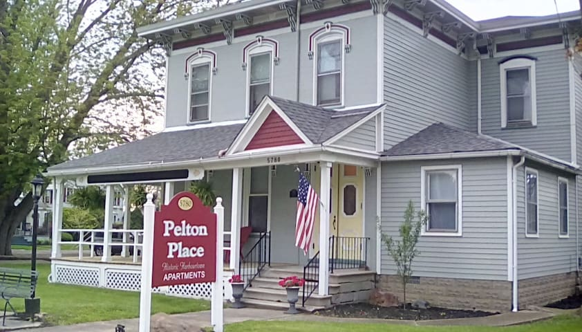The Pelton Place. Historic District - Vermilion - Wohnung